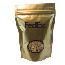 Health & Safety - Large Window Bag with Peanuts - Gold