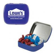 Home & Family - Small Blue Mint Tin with Candy Stars