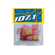 Health & Safety - Large Candy Bag (with Header Card) with Starburst
