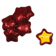 Pens, Pencils & Markers - Chocolate Stars - Red