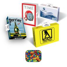 Office Supplies - Eco Friendly Advertising Mint/Candy/Gum Box with Mini-Tarts