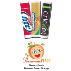 Home & Family - Passionate Peach Lip Balm - All Natural, USA Made
