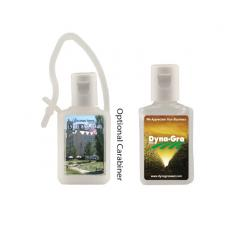 Home & Family - 1/2 oz. Flat Antibacterial Hand Sanitizer Bottle