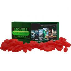 Tradeshow & Event Supplies - Movie Candy Box filled with Candy Sweedish Fish