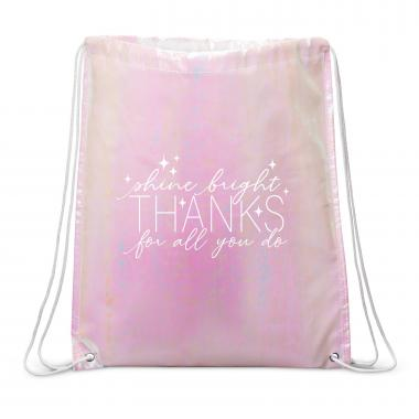 Shine Bright Drawstring Backpack