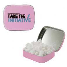 Home & Family - Small Pink Mint Tin with Sugar-Free Mints