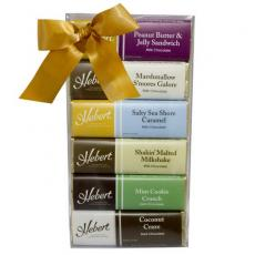 Candy, Food & Gifts - Hebert Chocolate Candy Bar Gift Set - 6 Chocolate Candy Bars