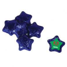 Apparel - Individually Wrapped Chocolate Stars