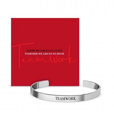 Teamwork Affirmation Band