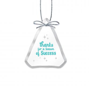Season of Success Tree Crystal Ornament
