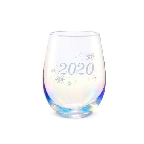 16oz Iridescent Stemless Wine Glass