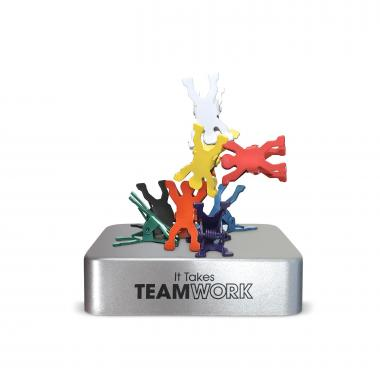 It Takes Teamwork Magnetic Clip Holder