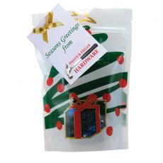 Candy, Food & Gifts - Large Window Bag with Hard Candy - Foil Candy - Holiday Tree