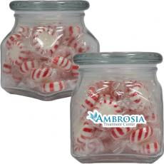 Candy, Food & Gifts - Apothecary Jar with Starlite Mints - Glass Jar - Small