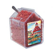 Candy, Food & Gifts - Candy Bin with Red Hot Candy - Dispenser