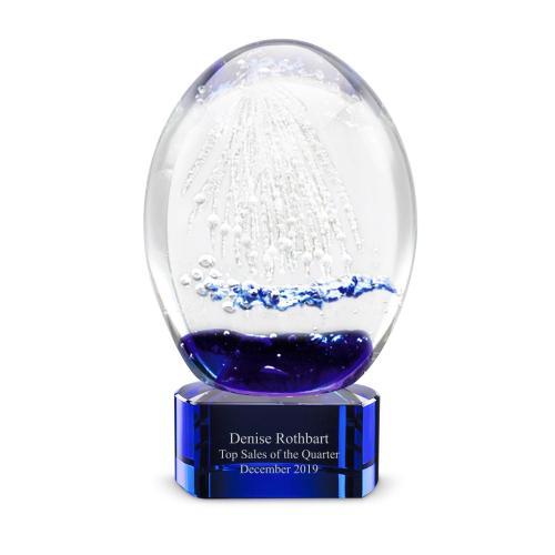 Firework Art Glass Award
