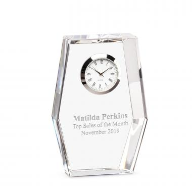 Hexad Crystal Clock