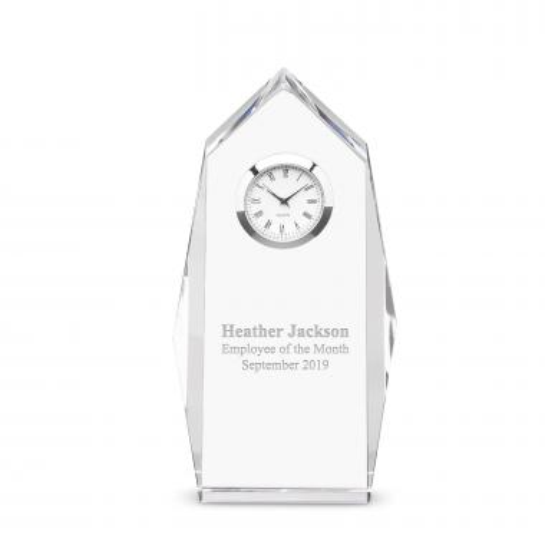 Castleton Crystal Clock