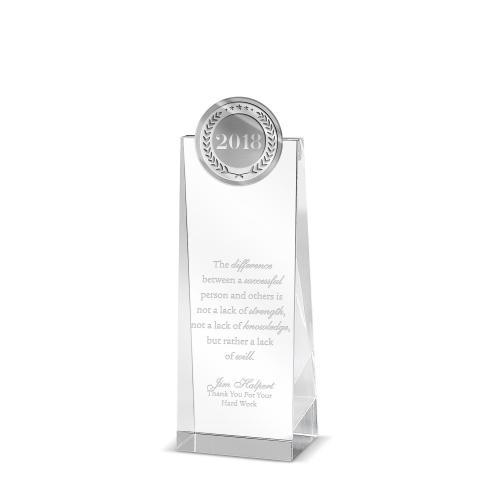 2018 Tower Medallion Crystal Award