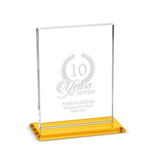 Vertical Emperor Dais Crystal Award