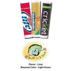 Home & Family - Slice of Lime Lip Balm - All Natural, USA Made