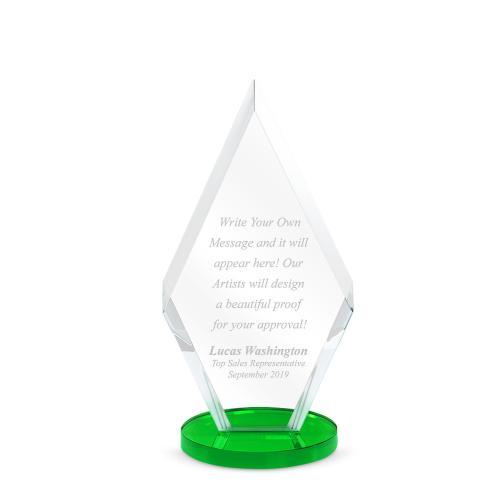 Keystone Dais Crystal Award