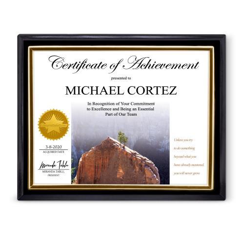 Achieve Certificate Frame