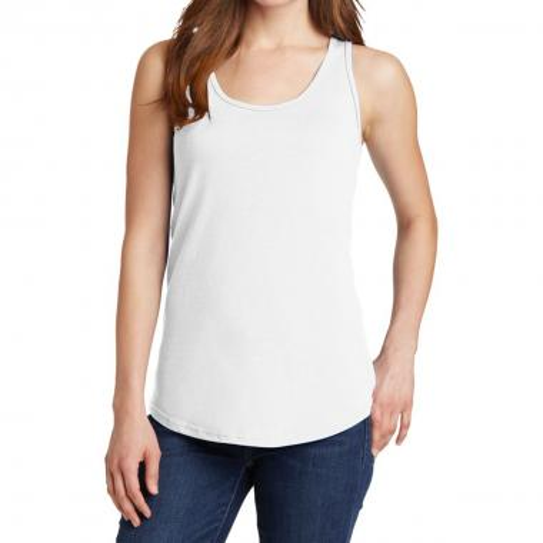 Port & Company® Ladies Core Cotton Tank Top