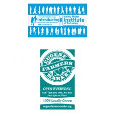 Sports & Outdoors - Economy Business Card Magnet