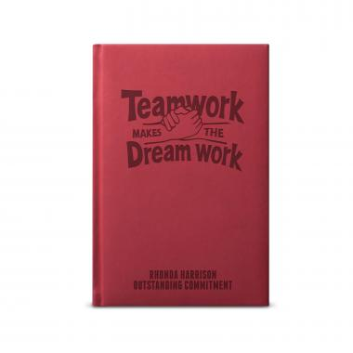 Teamwork Dreamwork Hands - Athena Journal
