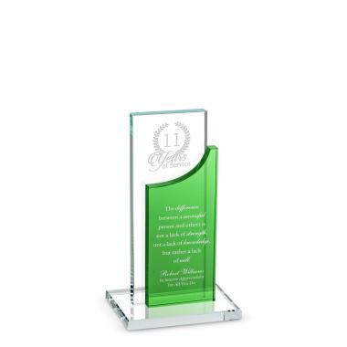 Towering Achievement Service Crystal Award