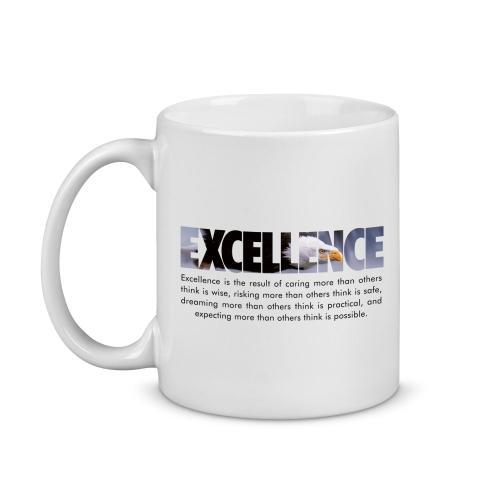Excellence Eagle Image Mug