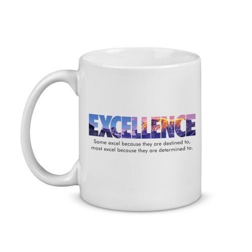 Excellence Mountain Image Mug
