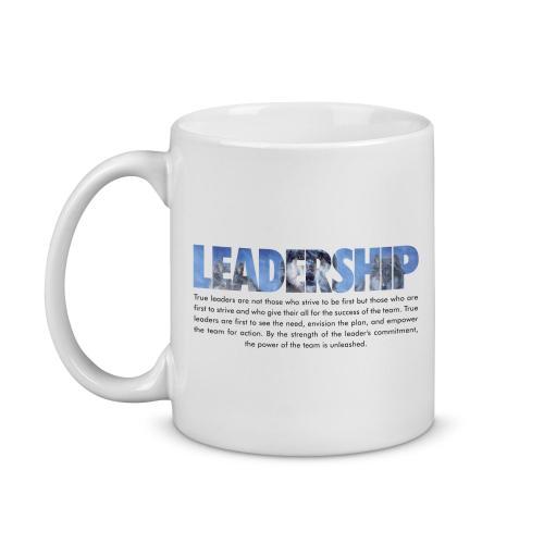 Leadership Wolves Image Mug