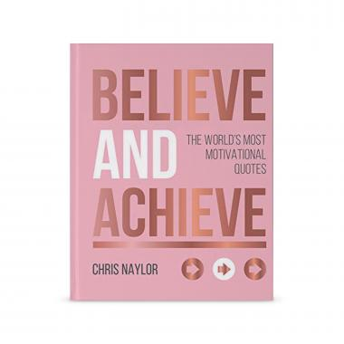 Book - Believe and Achieve