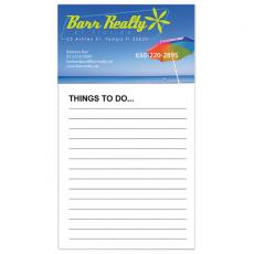 Office Supplies - Business Card Magnet with Non-Adhesive Notepad