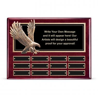 Flying Eagle Perpetual Plaque