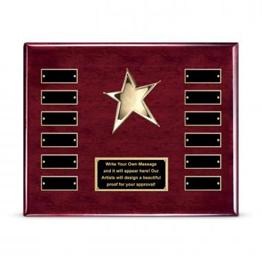 Star Perpetual Plaque