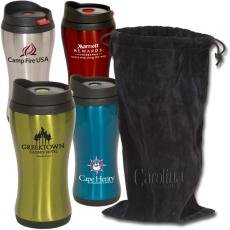 Health & Safety - Click 'N Sip Tumbler With Pouch