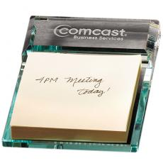 Home & Family - Atrium Glass Message Pad Holder
