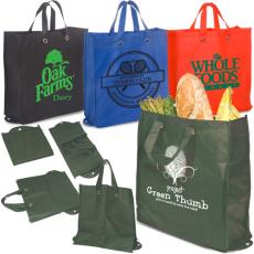 Office Supplies - Eco-Green Re-Usable Shopper - 80GSM