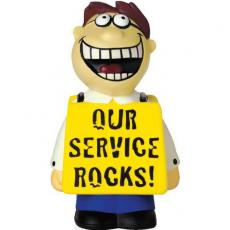 Office Supplies - Our Service Rocks Talking Stress Reliever