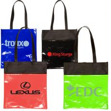 Sports & Outdoors - Clearance Laminated Non-Woven Duo-Tone Tote
