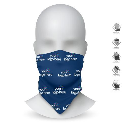 Microfiber Head Scarf & Mask - Custom