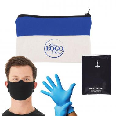 Soft Reusable Mask To Go Kit
