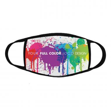 Made in the USA 2-Layer Full Color Custom Mask