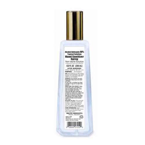 INSTOCK 8oz Spray Hand Sanitizer - Bulk