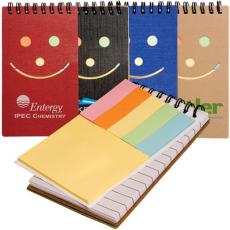 Health & Safety - Clearance Eco Smiley Sticky Jotter