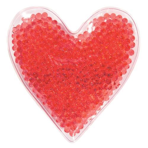 Heart Shape Gel Beads Hot/Cold Pack