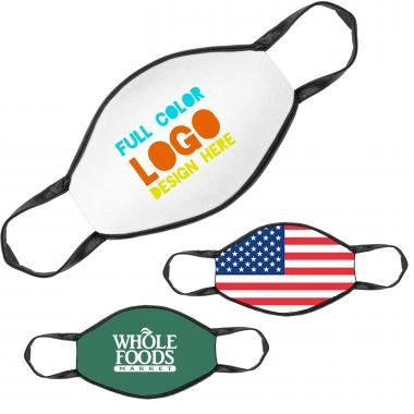 Made in the USA Full Color Face Mask - Custom